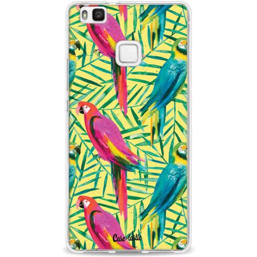 Casetastic Softcover Huawei P9 Lite - Tropical Parrots