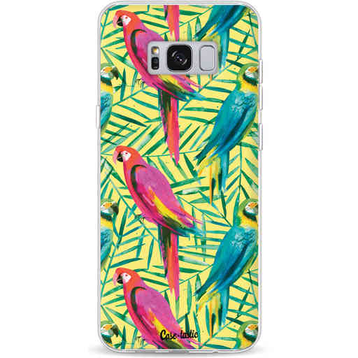 Casetastic Softcover Samsung Galaxy S8 Plus - Tropical Parrots