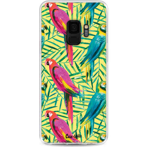 Casetastic Softcover Samsung Galaxy S9 - Tropical Parrots
