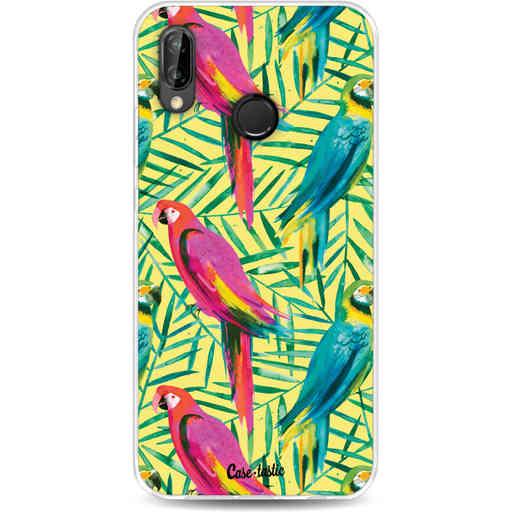 Casetastic Softcover Huawei P20 Lite - Tropical Parrots