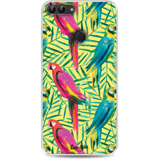 Casetastic Softcover Huawei P Smart - Tropical Parrots