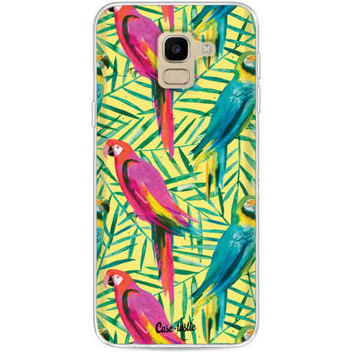 Casetastic Softcover Samsung Galaxy J6 (2018) - Tropical Parrots