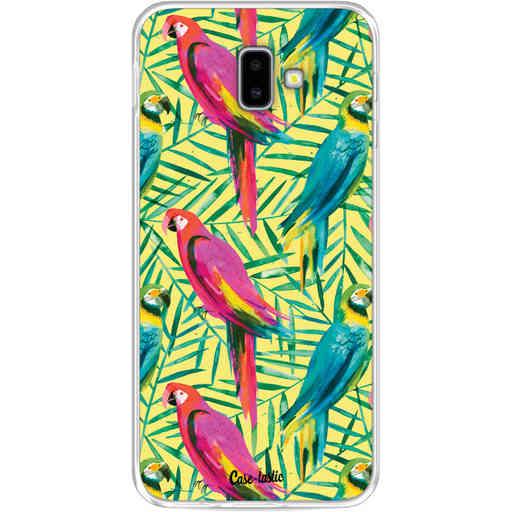 Casetastic Softcover Samsung Galaxy J6 Plus (2018) - Tropical Parrots