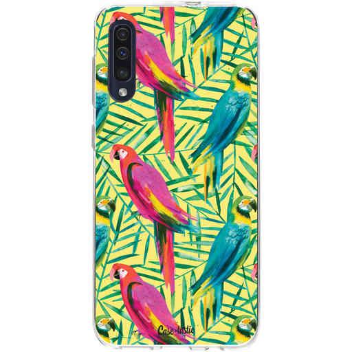 Casetastic Softcover Samsung Galaxy A50 (2019) - Tropical Parrots