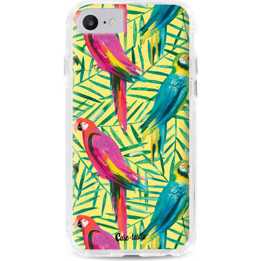 Casetastic Dual Snap Case Apple iPhone 7 / 8 - Tropical Parrots