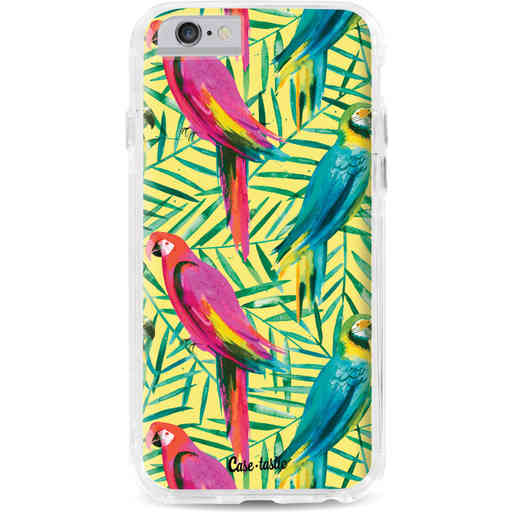 Casetastic Dual Snap Case Apple iPhone 6 / 6s - Tropical Parrots