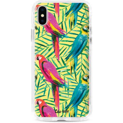 Casetastic Dual Snap Case Apple iPhone X / XS - Tropical Parrots