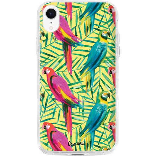 Casetastic Dual Snap Case Apple iPhone XR - Tropical Parrots