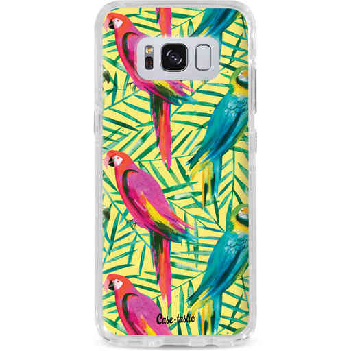 Casetastic Dual Snap Case Samsung Galaxy S8 - Tropical Parrots