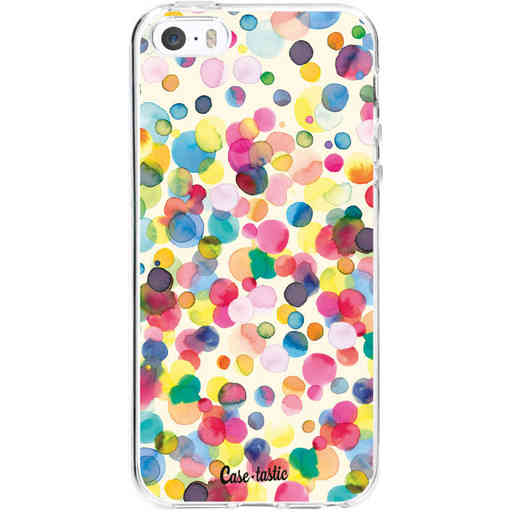 Casetastic Softcover Apple iPhone 5 / 5s / SE - Watercolor Confetti