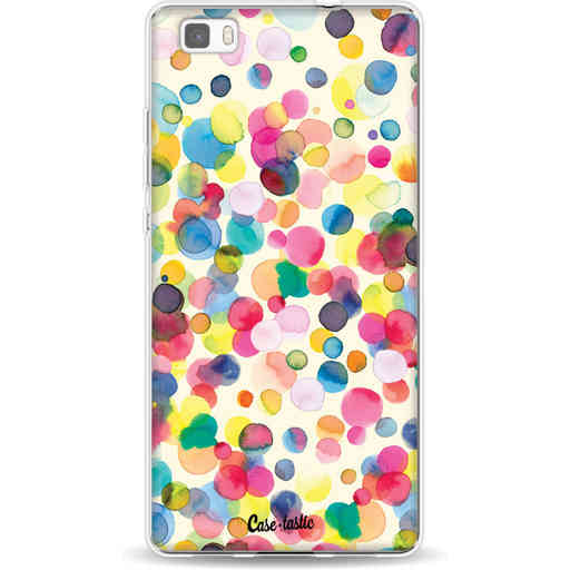 Casetastic Softcover Huawei P8 Lite - Watercolor Confetti