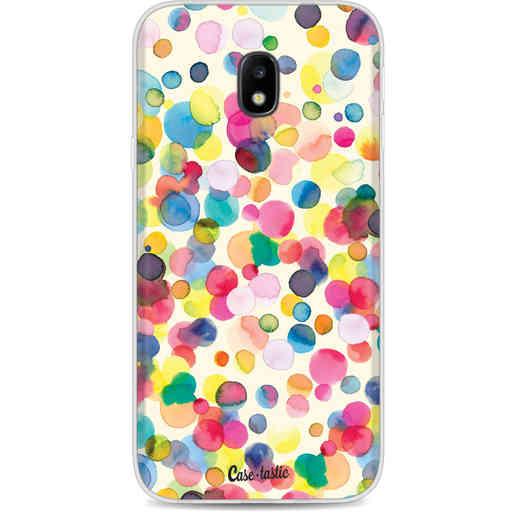 Casetastic Softcover Samsung Galaxy J3 (2017)  - Watercolor Confetti