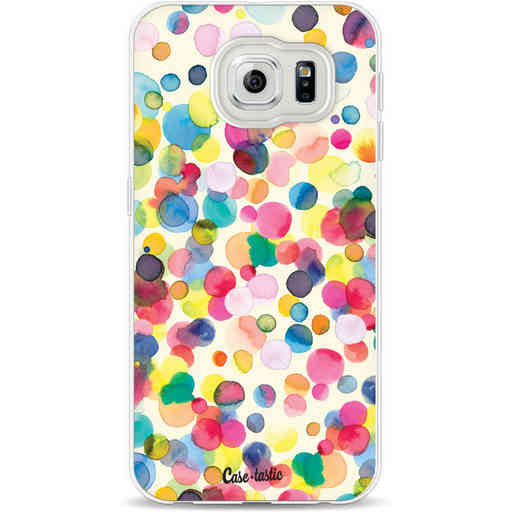 Casetastic Softcover Samsung Galaxy S6 - Watercolor Confetti