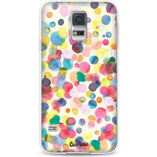 Casetastic Softcover Samsung Galaxy S5  - Watercolor Confetti
