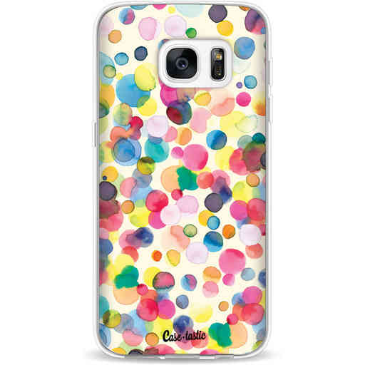 Casetastic Softcover Samsung Galaxy S7 - Watercolor Confetti