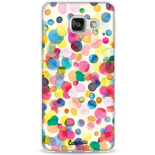 Casetastic Softcover Samsung Galaxy A3 (2016) - Watercolor Confetti