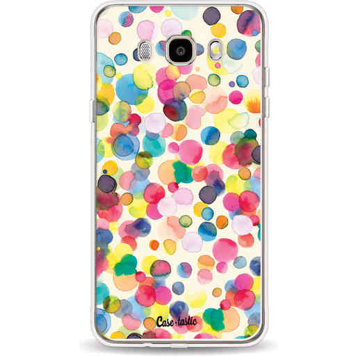 Casetastic Softcover Samsung Galaxy J5 (2016) - Watercolor Confetti