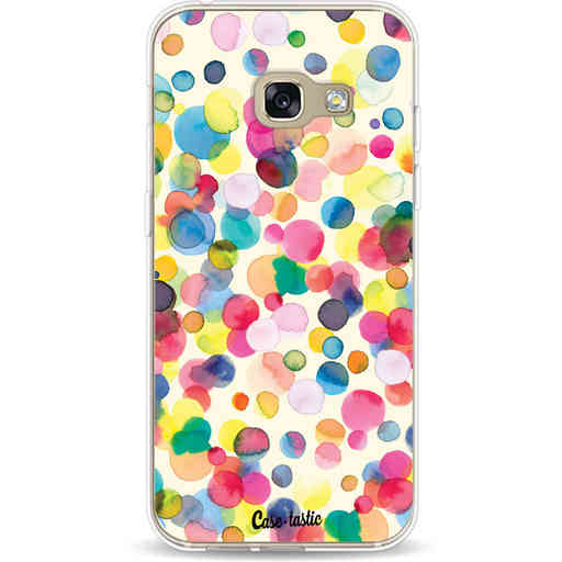 Casetastic Softcover Samsung Galaxy A3 (2017)  - Watercolor Confetti