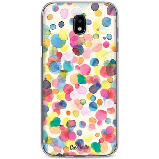 Casetastic Softcover Samsung Galaxy J5 (2017) - Watercolor Confetti