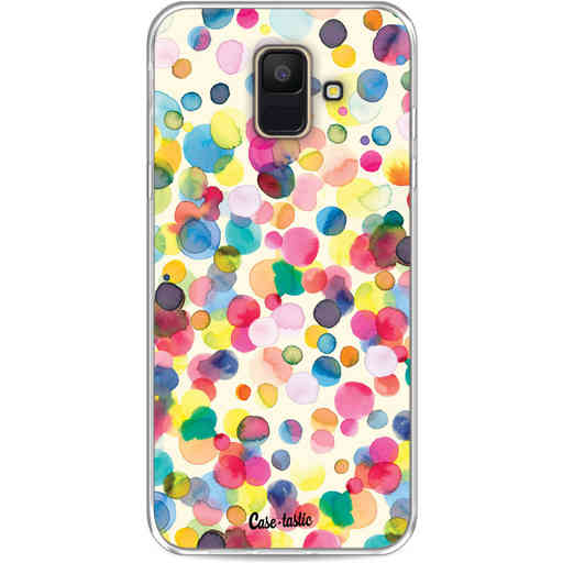 Casetastic Softcover Samsung Galaxy A6 (2018) - Watercolor Confetti
