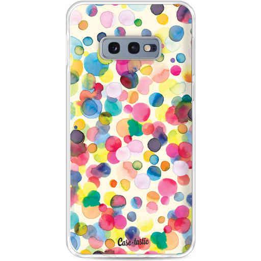 Casetastic Softcover Samsung Galaxy S10e - Watercolor Confetti