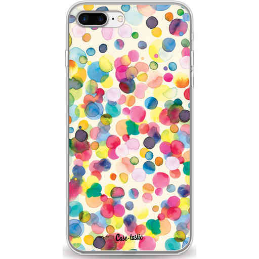 Casetastic Softcover Apple iPhone 7 Plus / 8 Plus - Watercolor Confetti
