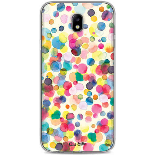 Casetastic Softcover Samsung Galaxy J7 (2017) - Watercolor Confetti