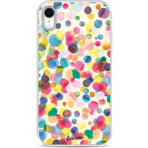 Casetastic Softcover Apple iPhone XR - Watercolor Confetti