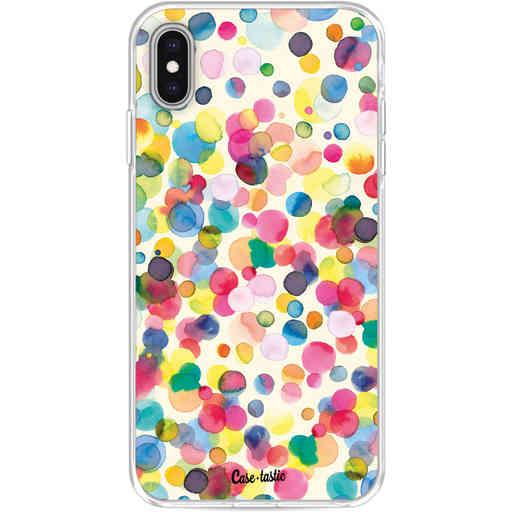 Casetastic Softcover Apple iPhone XS Max - Watercolor Confetti