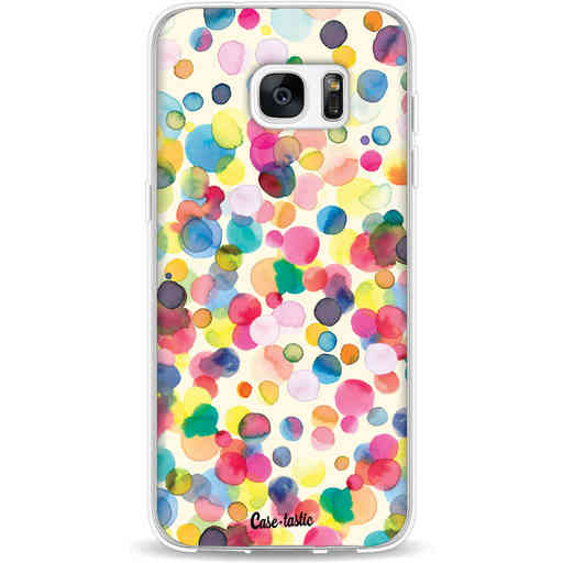 Casetastic Softcover Samsung Galaxy S7 Edge - Watercolor Confetti