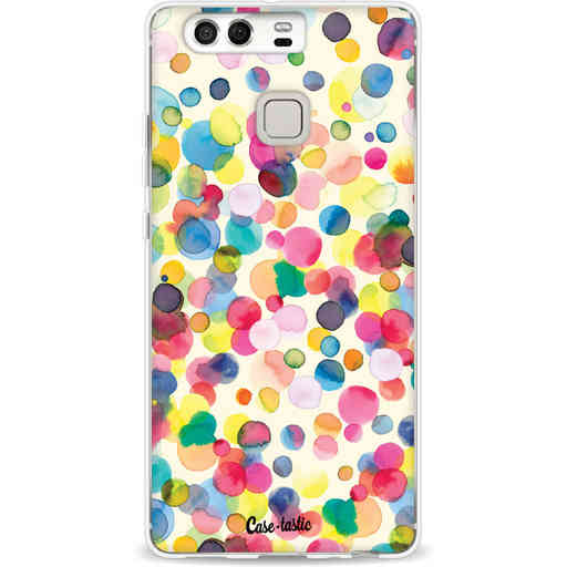 Casetastic Softcover Huawei P9 - Watercolor Confetti