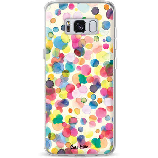Casetastic Softcover Samsung Galaxy S8 - Watercolor Confetti