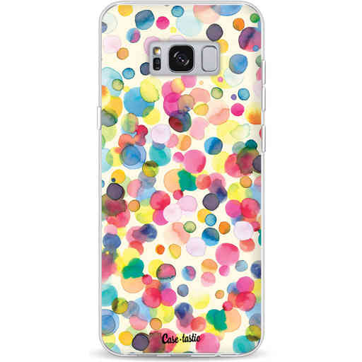 Casetastic Softcover Samsung Galaxy S8 Plus - Watercolor Confetti