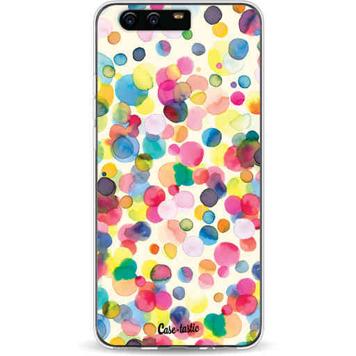 Casetastic Softcover Huawei P10 - Watercolor Confetti