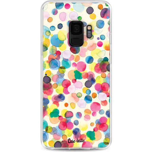 Casetastic Softcover Samsung Galaxy S9 - Watercolor Confetti