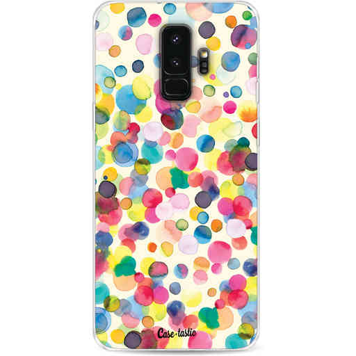 Casetastic Softcover Samsung Galaxy S9 Plus - Watercolor Confetti