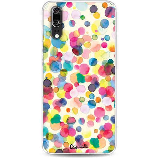 Casetastic Softcover Huawei P20 - Watercolor Confetti