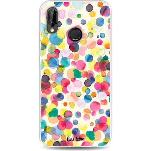 Casetastic Softcover Huawei P20 Lite - Watercolor Confetti