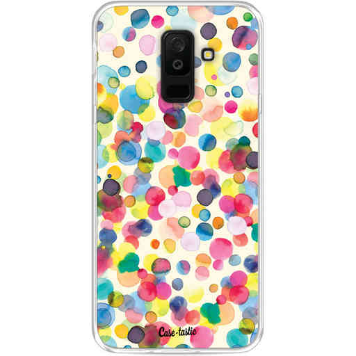 Casetastic Softcover Samsung Galaxy A6 Plus (2018) - Watercolor Confetti
