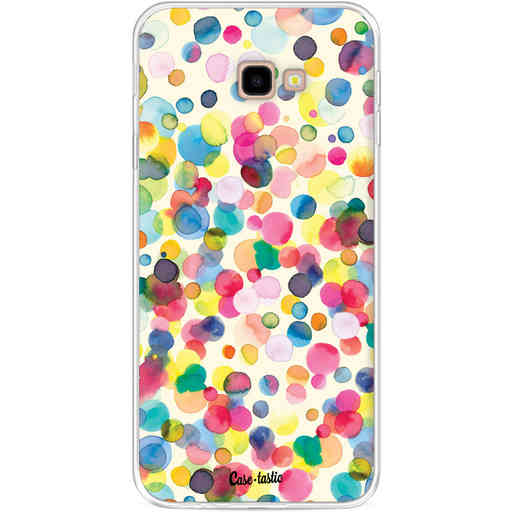 Casetastic Softcover Samsung Galaxy J4 Plus (2018) - Watercolor Confetti