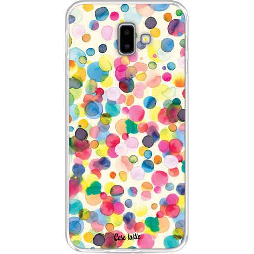 Casetastic Softcover Samsung Galaxy J6 Plus (2018) - Watercolor Confetti