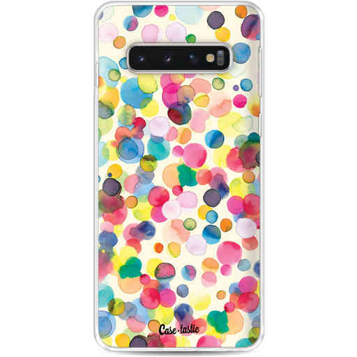 Casetastic Softcover Samsung Galaxy S10 - Watercolor Confetti