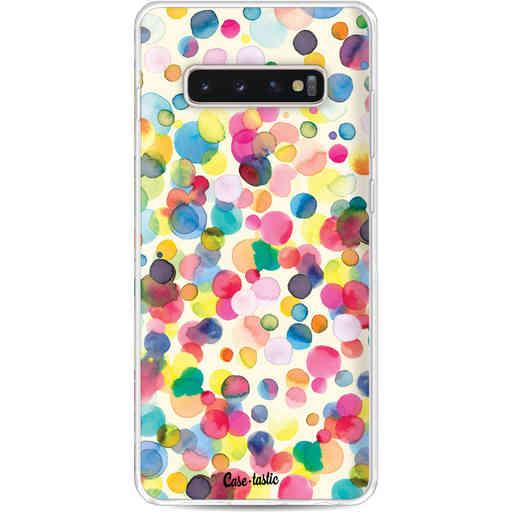 Casetastic Softcover Samsung Galaxy S10 Plus - Watercolor Confetti