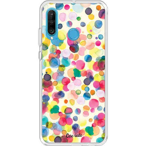 Casetastic Softcover Huawei P30 Lite - Watercolor Confetti