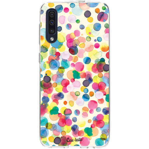 Casetastic Softcover Samsung Galaxy A50 (2019) - Watercolor Confetti