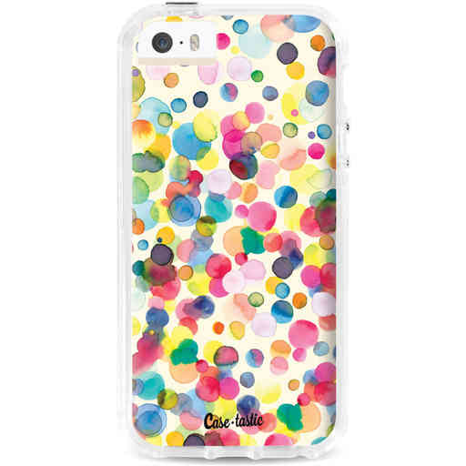Casetastic Dual Snap Case Apple iPhone 5 / 5s / SE - Watercolor Confetti