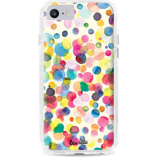 Casetastic Dual Snap Case Apple iPhone 7 / 8 - Watercolor Confetti