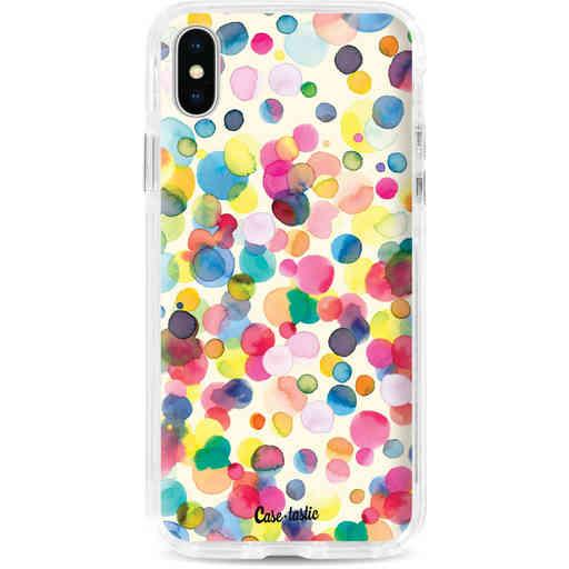 Casetastic Dual Snap Case Apple iPhone X / XS - Watercolor Confetti