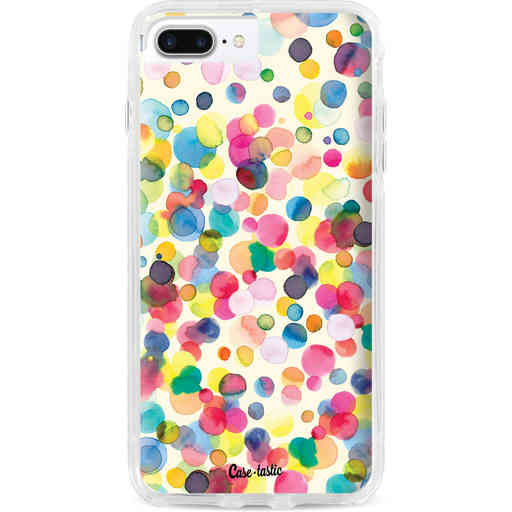 Casetastic Dual Snap Case Apple iPhone 7 Plus / 8 Plus - Watercolor Confetti