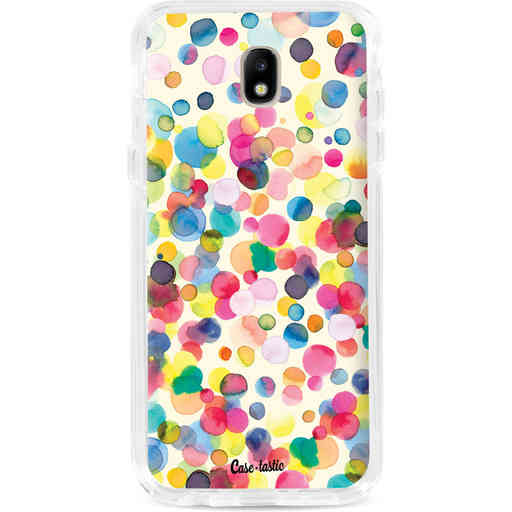 Casetastic Dual Snap Case Samsung Galaxy J7 (2017) - Watercolor Confetti